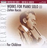 Works for Solo Piano-for Children