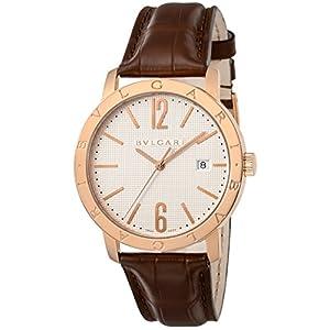 [ブルガリ]BVLGARI 腕時計 ブルガリブルガリ ホワイト文字盤 BBP40WGLD メンズ 【並行輸入品】