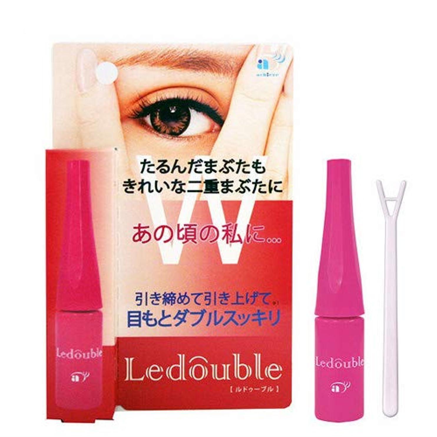 不十分なアジテーション輝度大人のLedouble [大人のルドゥーブル] 二重まぶた化粧品 (4mL)×2個セット