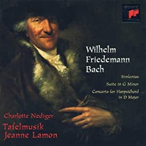 W.F.Bach:Sinfonias/Suite