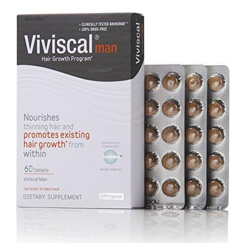 Viviscal Man Maximum Strength Hair Nourishment sup...