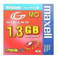 日立マクセル マクセル 1.3GB GIGAMO Windowsフォーマット済 5枚セット MA-M1300WIN.B1P5