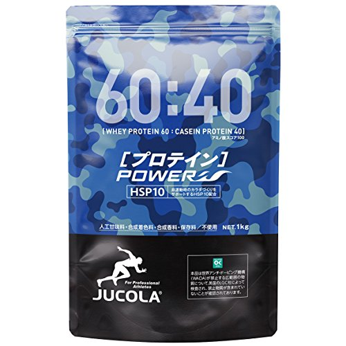 ジャコラ(JUCOLA)プロテインパワー ホエイ60:ガゼイン40 1kg 無添加