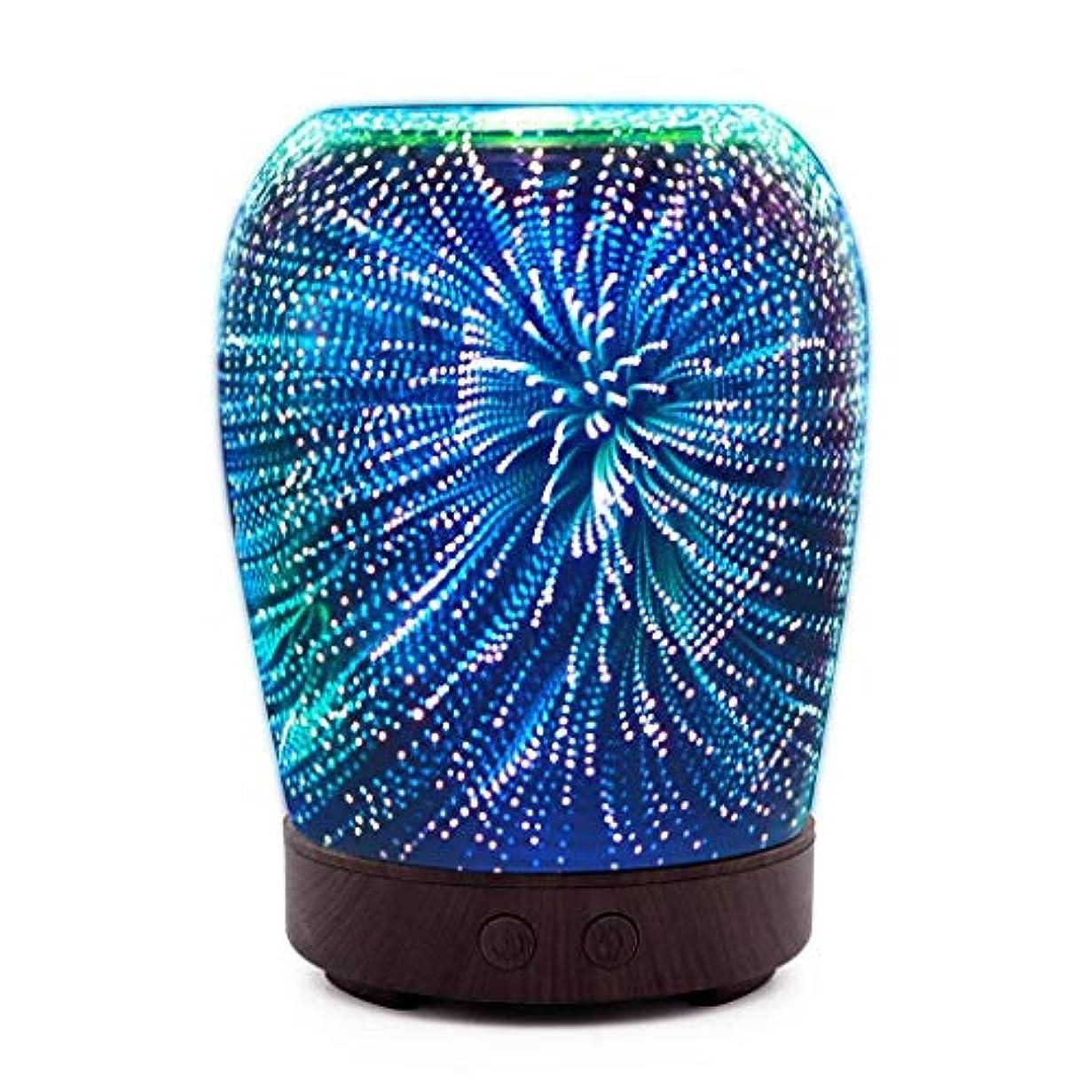 トロリー汚い野ウサギ芳香 拡張器 清涼 薄霧 加湿器 アロマディフューザー 車内や家庭で使用 (Color : Fireworks)