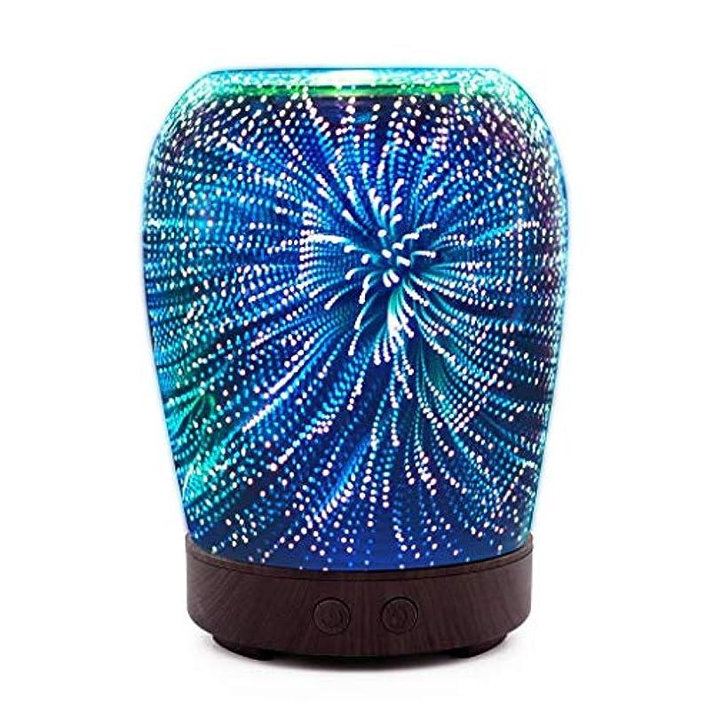 仲間ステーキ習慣芳香 拡張器 清涼 薄霧 加湿器 アロマディフューザー 車内や家庭で使用 (Color : Fireworks)
