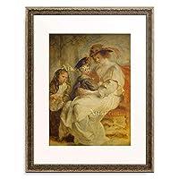 ピーテル・パウル・ルーベンス Peter Paul Rubens 「Helene Fourment und ihre Kinder. 1636/1637.」 額装アート作品