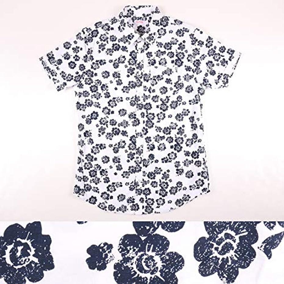ウイルス無視する敵対的SUN68 花柄 半袖シャツ 15186 white S 17593【S17594】 サンシックスティーエイト [並行輸入品]