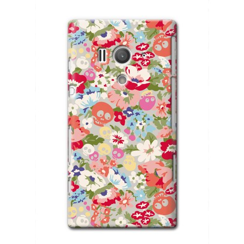 CollaBorn Xperia acro HD専用スマートフォンケース Liberty skeleton 【Xperia acroHD対応】 OS-XH-081