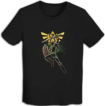 プリント 半袖シャツ メンズ T-Shirt The Legend Of Zeldaゼルダの伝说 Tシャツ White