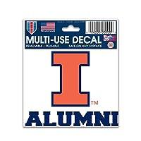 "NCAAイリノイ大学70566014multi-useデカール、3"" x 4"""