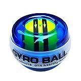 尚美 パワーボール オートスタート機能 搭載 発光モデル 、腕ボール、指と腕をフィットネスし、リハビリテーションするのに用い、握力のエネルギーボールを鍛えます
