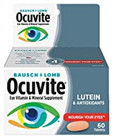 Ocuvite Vitamin and Mineral Supplement Tablets, 60 Count by Ocuvite