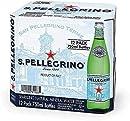 サンペレグリノ(S.PELLEGRINO) 炭酸入りナチュラルミ?#24237;楗毳Ε┅`ター 瓶 750ml×12本[直輸入品]
