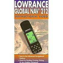 Lowrance Global Nav 212 [VHS]
