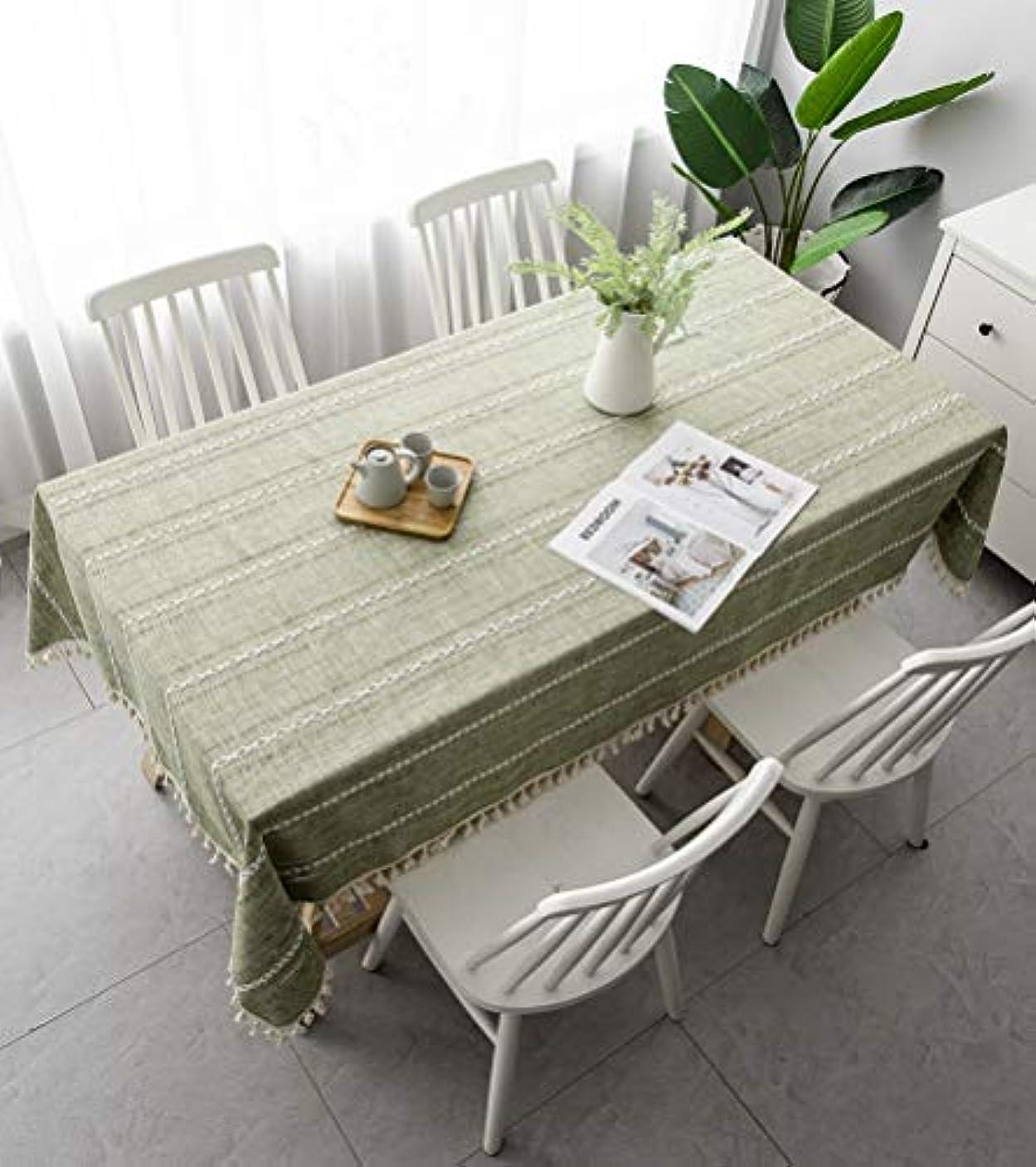 神の姪ベアリングサークルテーブルクロス260分の240/280センチメートル綿と麻長方形のテーブルクロスファミリーキッチンレストラン休日のディナーパーティーの装飾,140x280