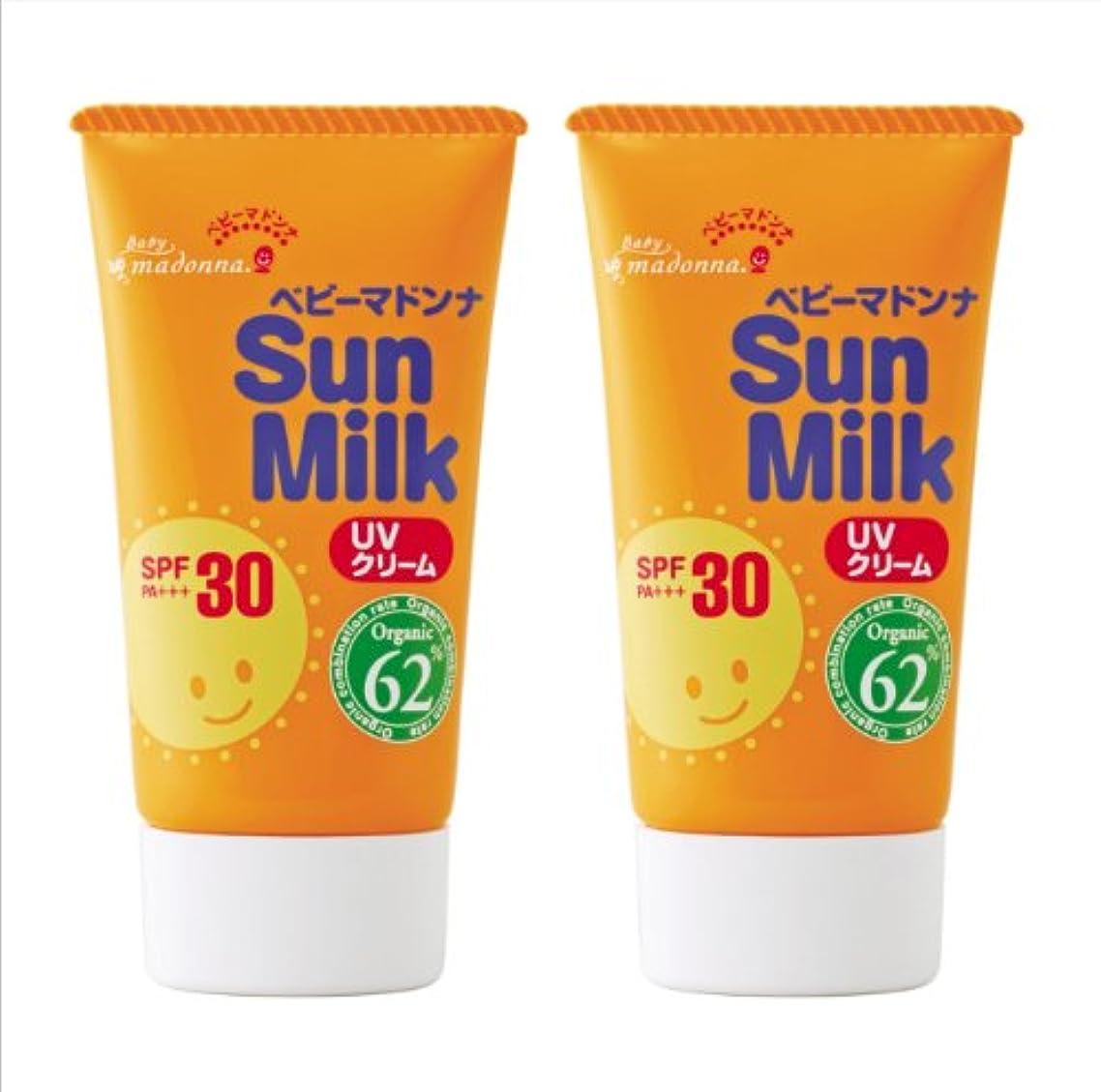 日焼け虎識字ベビーマドンナサンミルク45g×2個セット