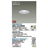 大光電機:ダウンライト(軒下兼用) DDL-5104WS