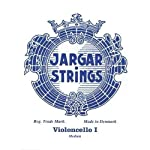 Jargar Superior Cello A String - Ball End - Medium Gauge [並行輸入品]