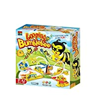 Sytle-Carry Looping Bee Games Board Games - Looping Bumblebee Classic Bees Game for Children & Adult [並行輸入品]