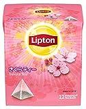 リプトン さくらティー ピラミッド型ティーバッグ 12袋入×6袋