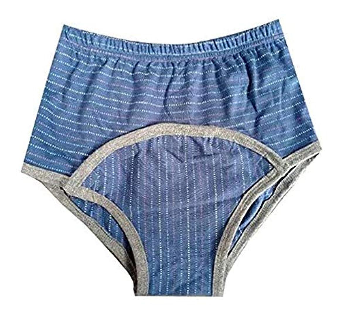 寛容なガイドライン留まる再利用可能な尿失禁用下着 - マン&ウーマンのために洗える膀胱コントロールブリーフ - 特別、失禁パンツニーズ1 820 (Color : 3, Size : S)