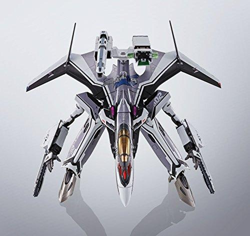 DX超合金 マクロスデルタ VF-31Fジークフリード(メッサー・イーレフェルト機) 約260mm ダイキャスト&ABS&PVC製 塗装済み可動フィギュア