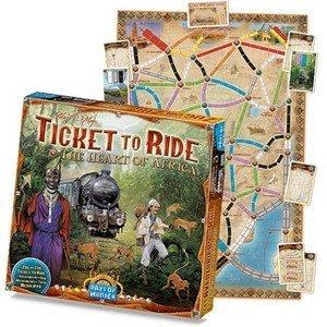 チケット・トゥ・ライド拡張セット アフリカ (Ticket To Ride: Map Collection Heart of Africa, Volume #3) [並行輸入品] ボードゲーム