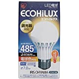 アイリスオーヤマ LED電球 40w相当 調光 電球色相当 (485lm) LDA7LHDV1