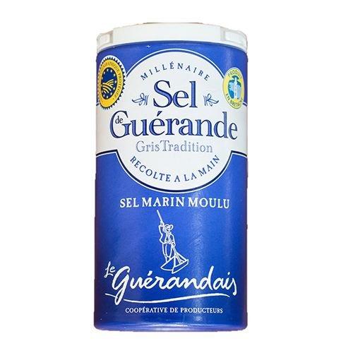 ゲランドの塩/ 細粒塩/ セル・マリン(細粒)/Sel de Guerande Sel marin moulu 【スモールサイズ/125g】 /スパイス・ハーブ・香辛料・調味料