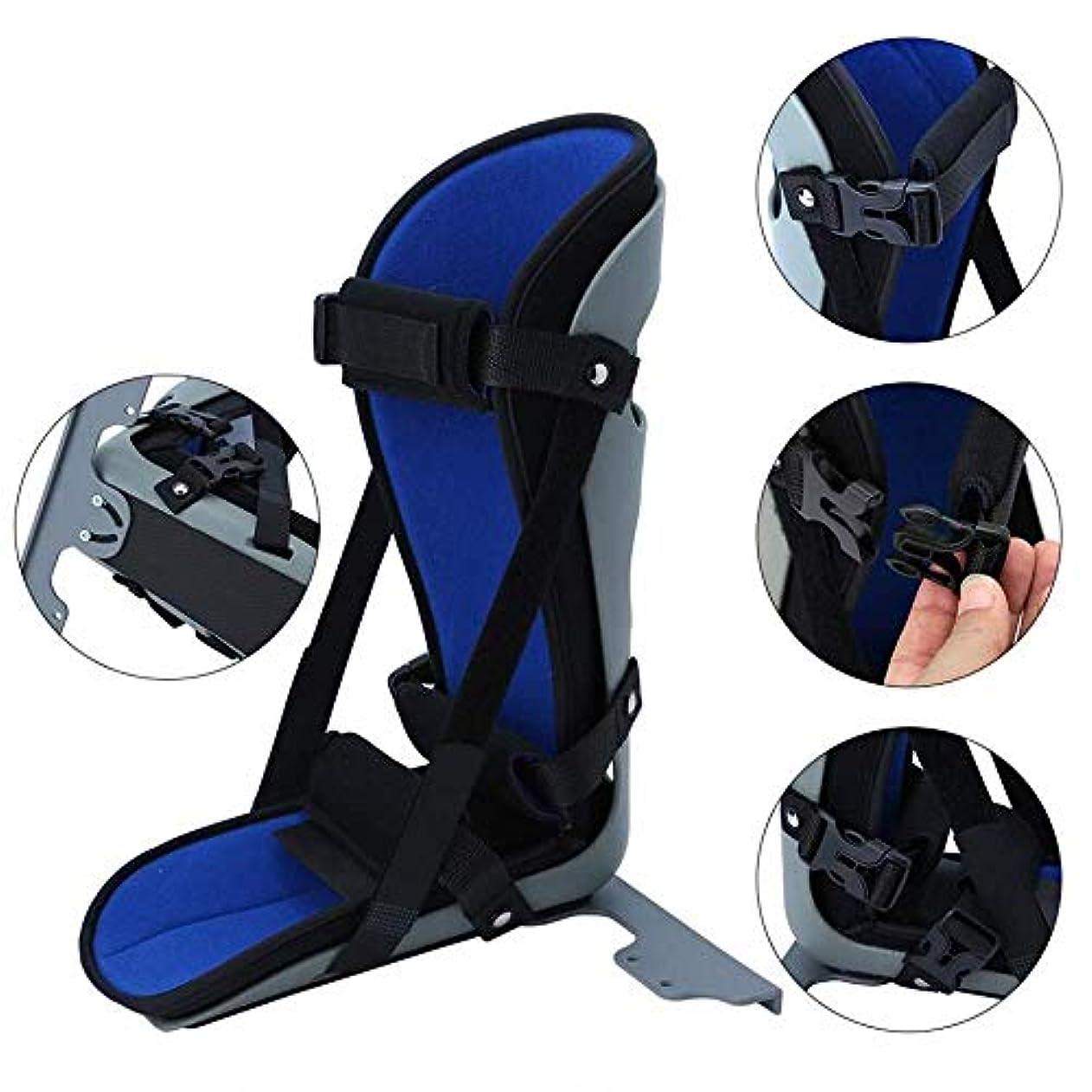 アンケート同行固執足底筋膜炎およびアキレス腱炎の治療のための足底筋膜の延長ストレッチ用ブレースナイトスプリント (Size : Medium)