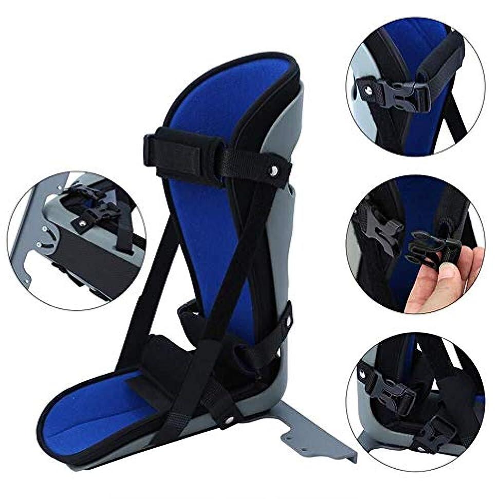 フローティング物思いにふけるのぞき穴足底筋膜炎およびアキレス腱炎の治療のための足底筋膜の延長ストレッチ用ブレースナイトスプリント (Size : Medium)
