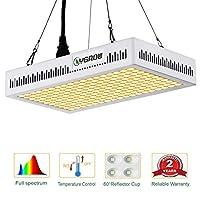 LEDは、フルスペクトル600W、リフレクターシリーズの植物は屋内植物のための照明を成長させます。YGROWによる3500Kの耐熱ケーシング付きの野菜と花