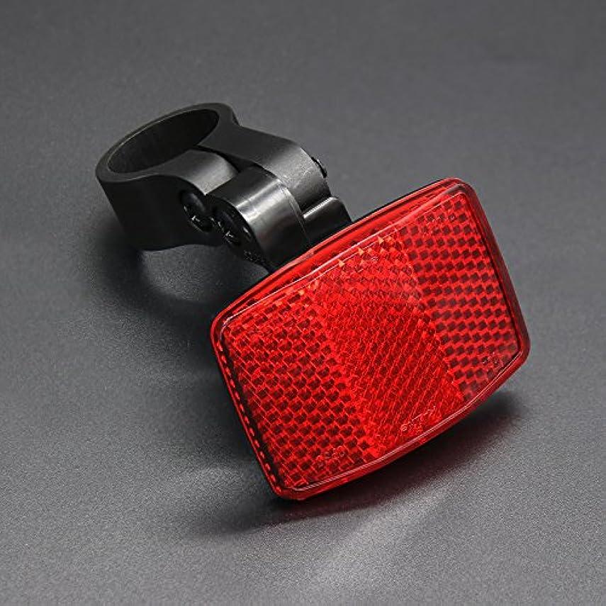 収束するラインテスピアンBSK 自転車汎用 調節可能 シートステイ用リフレクター バックステー取付タイプ ブラケット付き