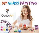 DIY Glass Painting - Arts and Crafts Kit for Kids [並行輸入品]