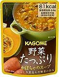 カゴメ 野菜たっぷり かぼちゃのスープ 160g ×6袋