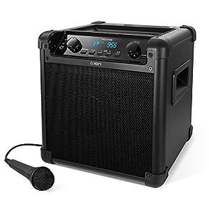ION Audio ポータブルPAスピーカー 50時間バッテリー マイク付き Bluetooth対応 AM/FMラジオ スマホ充電可能 Tailgater