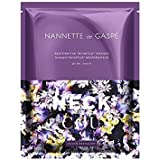 デガスペ修復首の仮面劇 x4 - Nannette De Gaspe Restorative Techstile Neck Masque (Pack of 4) [並行輸入品]