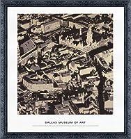 ポスター ゲルハルト リヒター City Pictures Munich 額装品 デコラティブフレーム(ブラック)