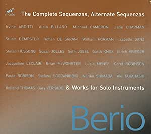 The Complete Sequenzas, Alternate Sequenzas & Works for Solo Instruments