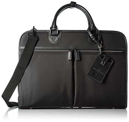 [クリスチャンジョルジュ] CHRISTIAN GEORGE CHRISTIAN GEORGES2ルームナイロンビジネスバッグ(撥水) CG6008 BK (BLACK)