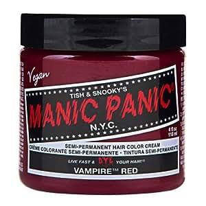 マニックパニック カラークリーム ヴァンパイアレッド