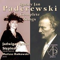 Padarewski: Complete Songs