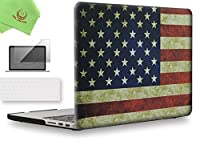 "UESWILL 3in1 マットハードケース CD-ROM無し タッチバー無しのMacbook Pro Retina 13インチ 15インチ 2012201320142015年型に対応 キーボードカバーとスクリーンプロテクター MacBook Pro 15"" Retina A1398 UES06F15R3-25"