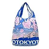 TOKYO × 富士山[エコバッグ]エコなショッピングバッグ/収納袋付き