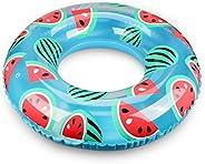 浮き輪 Oziral 最新浮輪 簡単に空気入れ 気筒不要 便利に携帯 おしゃれ 可愛い スイカ フロート プール ビーチ 海水浴 水遊び 旅行 子供用