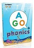 AGO エーゴ カードゲーム フォニックス アクア (レベル1) 第2版 【 英語 教材 ゲーム 】 AGO Card Game Phonics Aqua (Level1) 2nd Edition