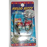HELLO KITTY ハロー キティ 限定 スキー ジャンプペア 金賞 キティ & ミミィ ファスナー マスコット ストラップ Sanrio サンリオ