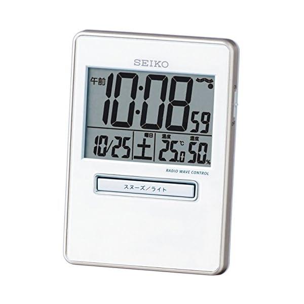 セイコー クロック 目覚まし時計 トラベラ 電波...の商品画像