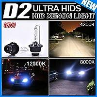 【半額】TODYER HIDバルブ D2C D2S 4300K 35W 高品質 純正交換 hid ヘッドライト2本左右セット1年保証