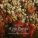 モーツァルト : セレナード第11番 、第10番「グラン・パルティータ」 / ベルリン古楽アカデミー (Mozart : Gran Partita - Wind Serenades K.361 & 375 / Akademie fur Alte Musik Berlin) [CD] [Import] [日本語帯・解説付き]